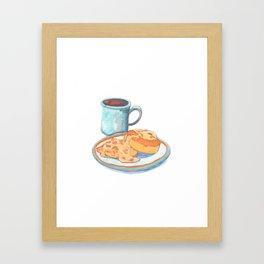 Southern Hygge: Bisuits n' Coffee Framed Art Print