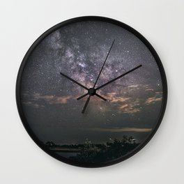 Milkyway at Loblolly Cove Wall Clock