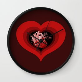 Delicious Valentine Wall Clock