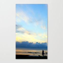Before Sunrise Canvas Print