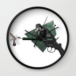 Smoking Gun Wall Clock
