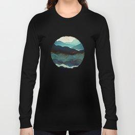 Indigo Mountains Long Sleeve T-shirt