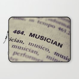 464. Musician Laptop Sleeve
