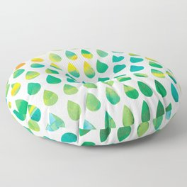Monsoon Rain Floor Pillow