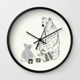 Vänner Wall Clock