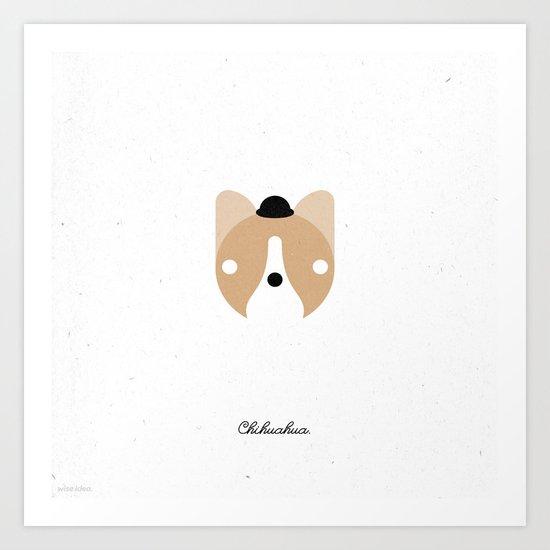 Pedigree: Chihuahua Art Print