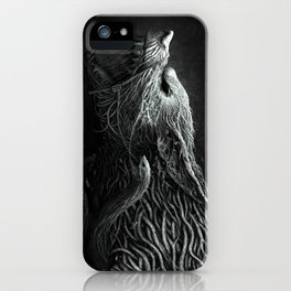 Wolf Monster iPhone Case