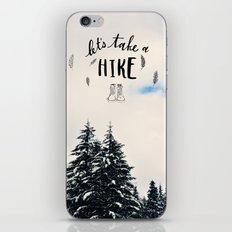 Let's Take A Hike iPhone & iPod Skin