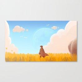 New World Canvas Print