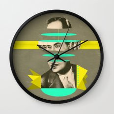 slices of Rossignol - Mariano Wall Clock