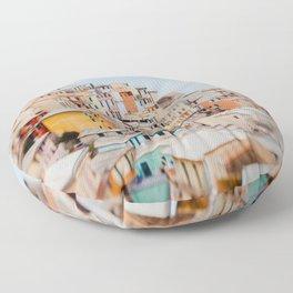 Manarola, Cinque Terre III Floor Pillow