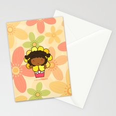 Flower in a Pot Stationery Cards