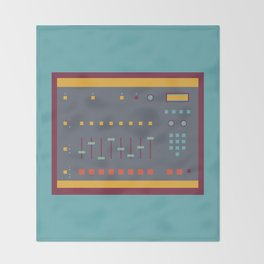 EMU SP1200 Sampler Throw Blanket