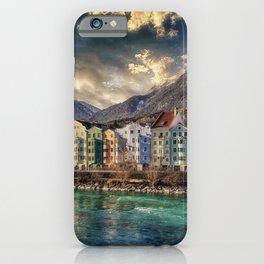 Riverside Innsbruck, Austria Photographic iPhone Case