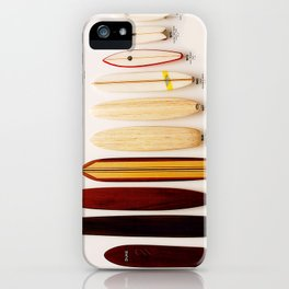 Surfboard Evolution iPhone Case