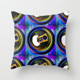 Ring Pull Throw Pillow