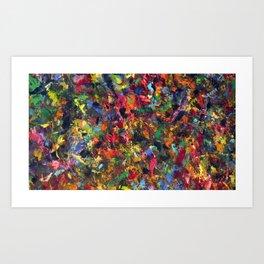 Oil Window Art Print