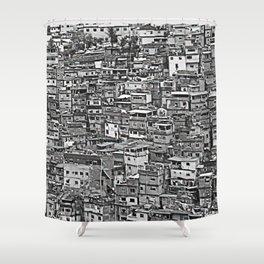 Favelas Shower Curtain