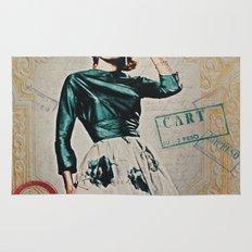 Carte Postale Rug
