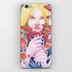 Keeper of the Scarlet Garden iPhone & iPod Skin