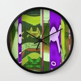 Clemson in Lauryn Wall Clock