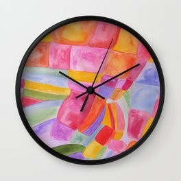 Candy Bunch Wall Clock