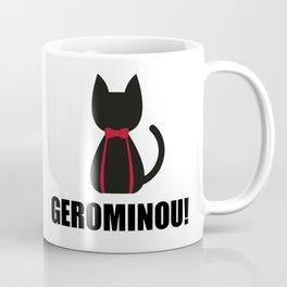 Geronimo + Cat = Gerominou Coffee Mug