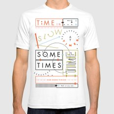 Haikuglyphics - Thyme White Mens Fitted Tee SMALL