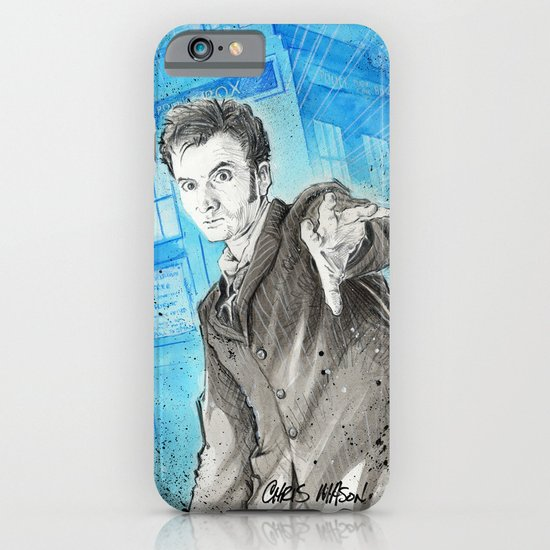 Doctor Who: The 10th Doctor iPhone & iPod Case