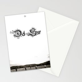 Del Sur - The Drifter Stationery Cards