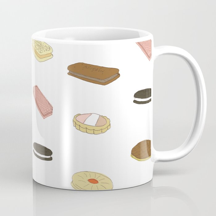biscui - biscuit pattern Coffee Mug