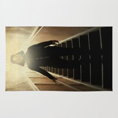 Stairway to the dark side _ vader descending  Rug