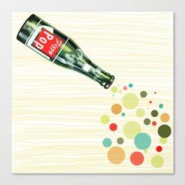 Fizzy Pop Canvas Print