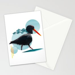 Oyster Catcher Stationery Cards