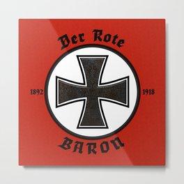Der Rote Baron Metal Print