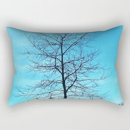 Alone and Leafless Rectangular Pillow