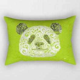Swirly Panda Rectangular Pillow