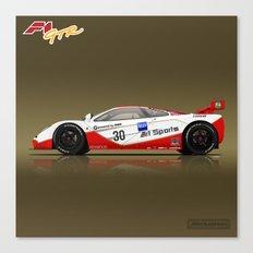 1996 McLaren F1 GTR #03R Canvas Print