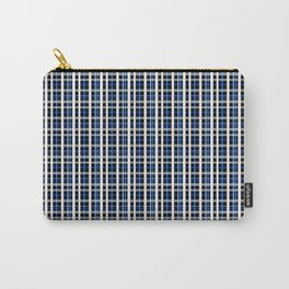 The checkered pattern . Carry-All Pouch