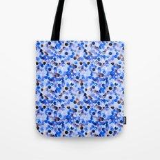 Blue Spots Tote Bag