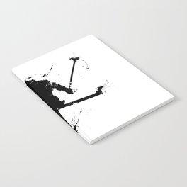 Ski jumper Notebook