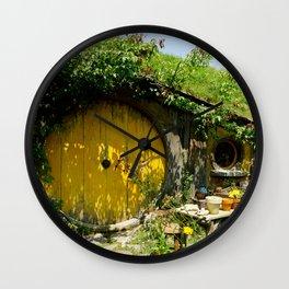 Hobbit Town Wall Clock