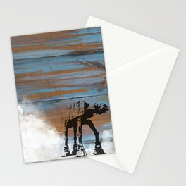 Blue Hoth Stationery Cards