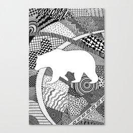 Kermode Bear Canvas Print