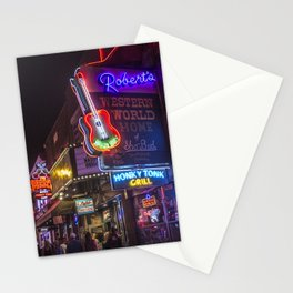 Nights in Nashville Stationery Cards