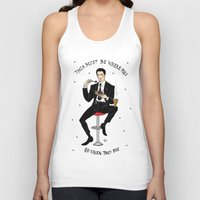 dale cooper Tank Tops featuring Special Agent Dale Cooper ~ RR Diner by Emma Munger