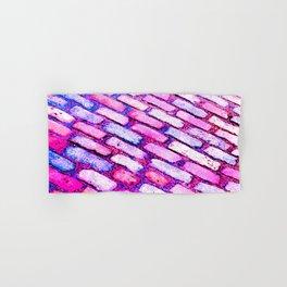 Diagonal Cobble Stones Hand & Bath Towel