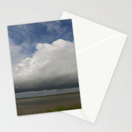 Clouds Over The Marsh Stationery Cards
