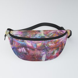 Carousel Horse Expressionist Painting Fanny Pack