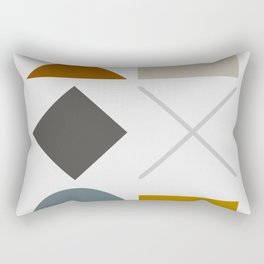 Mid West Geometric 03 Rectangular Pillow
